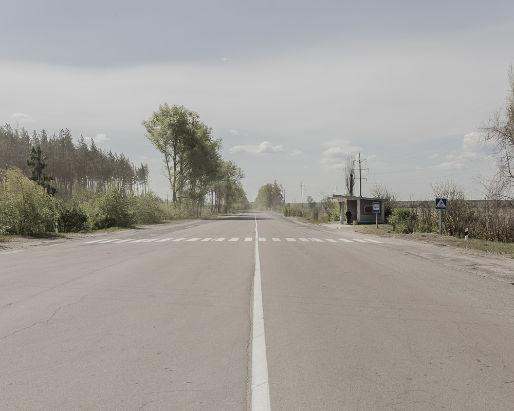 way to chernobyl checkpoint