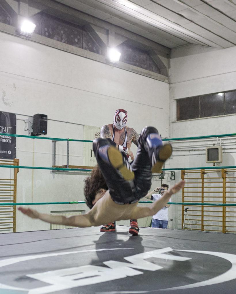 red scorpion sul ring team bologna