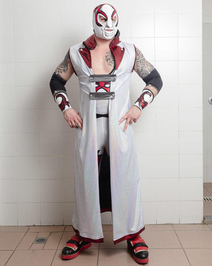 red scorpion wrestler bologna ritratto