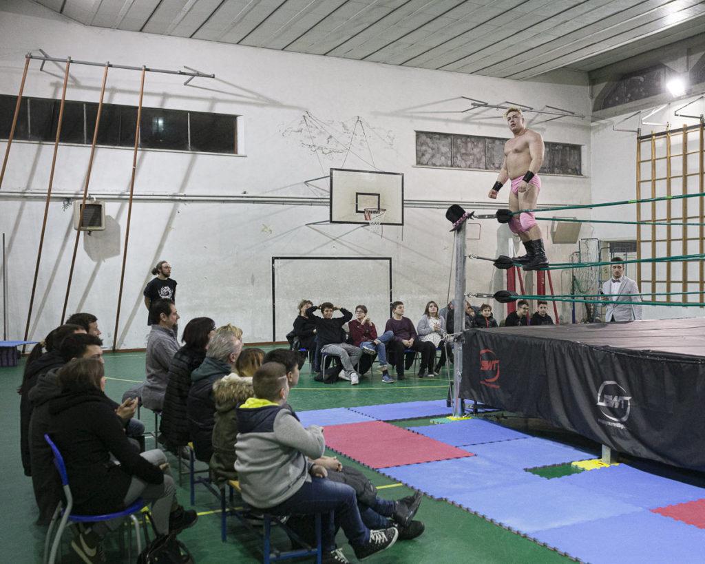 wrestling amatoriale palestra