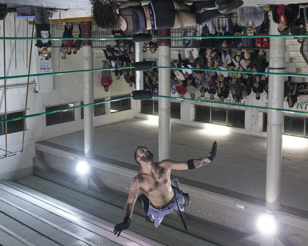 wrestling amatoriale volo